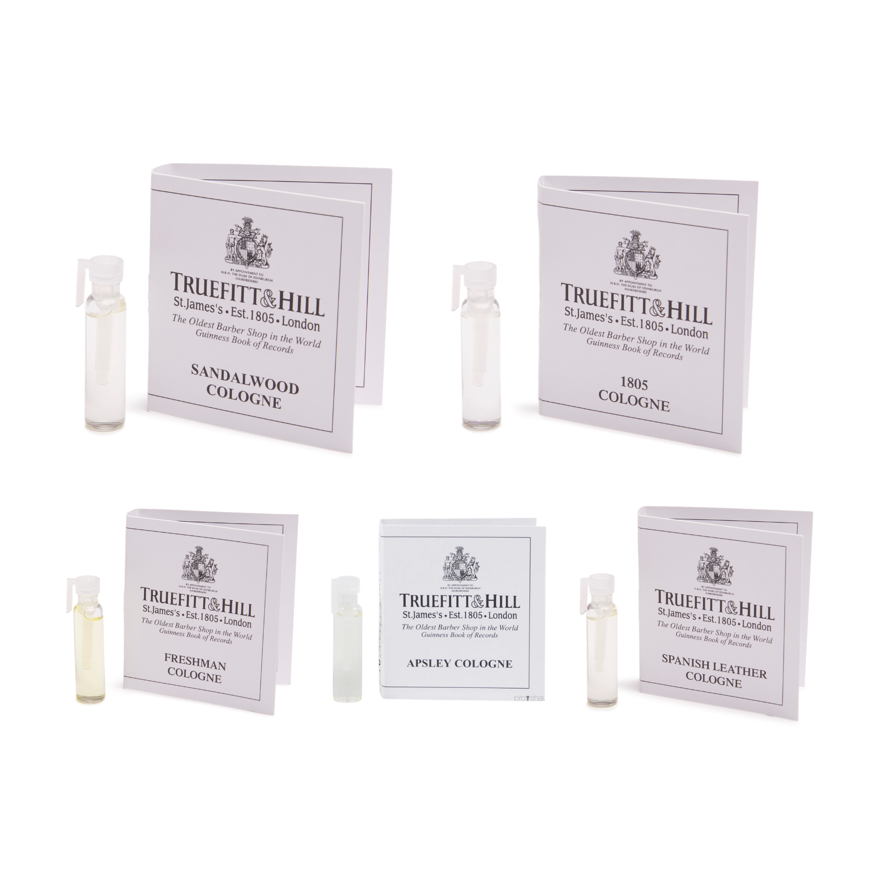 Cologne Sample 5 Pack