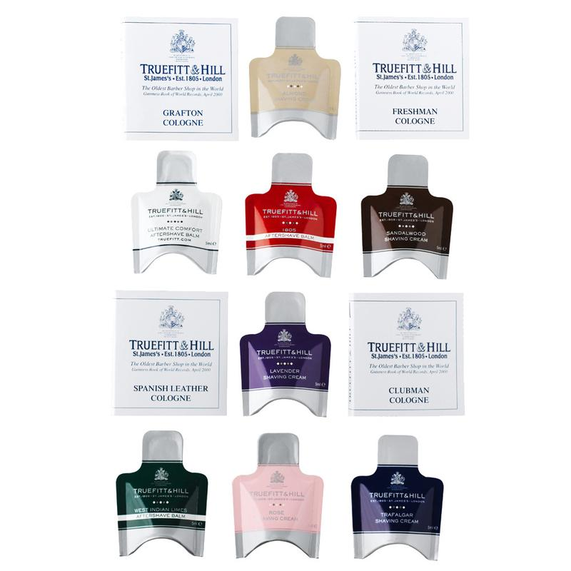 Creams, Balms and Colognes Sample Pack